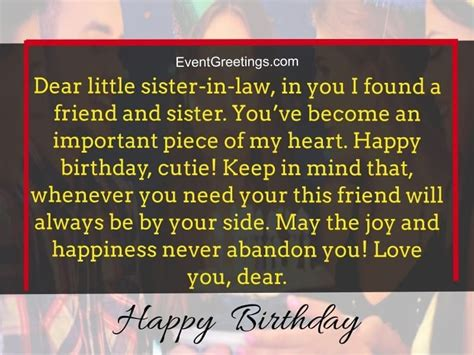 birthday wishes  quotes  sister  law  express unconditional love