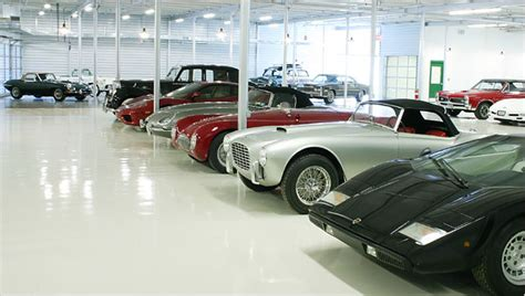 collectors car garage a place to keep all those toys the new york times