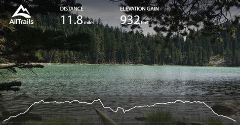 wilderness caribou area california trail alltrails trails map