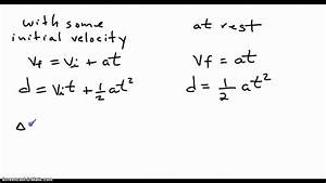 Acceleration Formule 1 : equations for motion under constant acceleration youtube ~ Medecine-chirurgie-esthetiques.com Avis de Voitures