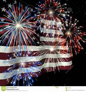 fireworks us flag 1 royalty free stock images image