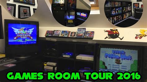 Games Room 2016man Caveretro Gaming Setup And Tour Youtube
