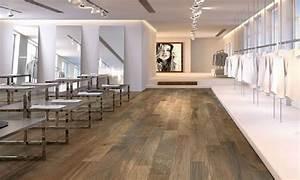 Carrelage Imitation Parquet Cuisine : carrelage imitation parquet bois ker wood brown ~ Dallasstarsshop.com Idées de Décoration