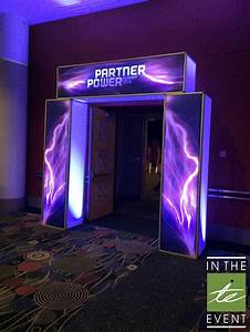 LED Marquee Entrance - Event Rental