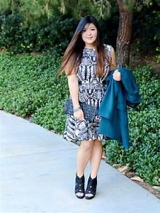 Curvy Girl Chic Plus Size Fashion Blog Talbots teal coat ...
