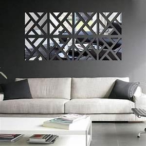 Deco Mural Salon : d coration murale salon miroir ~ Teatrodelosmanantiales.com Idées de Décoration