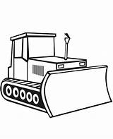 Coloring Bulldozer Digger Construction Pages Drawing Simple Sketch Template Craft Moving Parts Tractor Sketchite Vehicles Templates Clipartmag Colorluna sketch template
