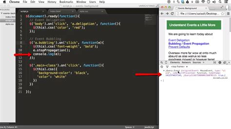 jquery console log event propagation with jquery ilovecoding
