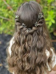 Idee Sympa Pour Bapteme : coiffure petite fille 90 id es pour votre petite princesse coupe petite fille pinterest ~ Farleysfitness.com Idées de Décoration
