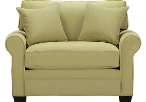 Cindy Crawford Home Bellingham Wasabi Sleeper Chair