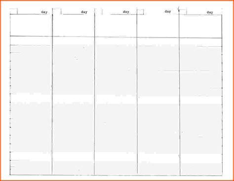 10 day calendar template 5 day calendar template calendar template 2018