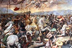 Constantine at the Battle of Milvian Bridge