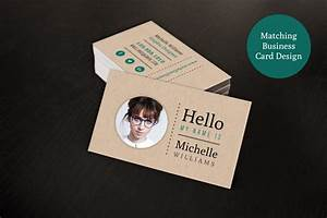 Creative resume business card set resume templates on for Hipster business cards