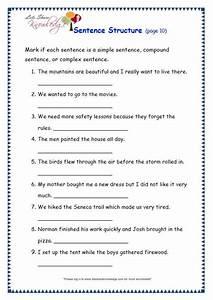 Grade 3 Grammar Topic 36  Sentence Structure Worksheets