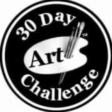30 Day Art Challenge Home Facebook