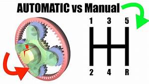Automatic Vs Manual Transmission - Explained