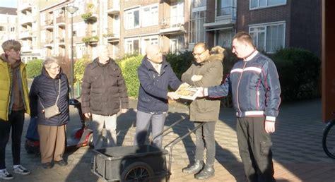 video clienten van middin gaan oud papier ophalen  steenvoorde noord rijswijktv