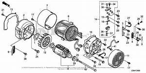 Honda Eb10000 Ah Generator  Chn  Vin  Ebvc