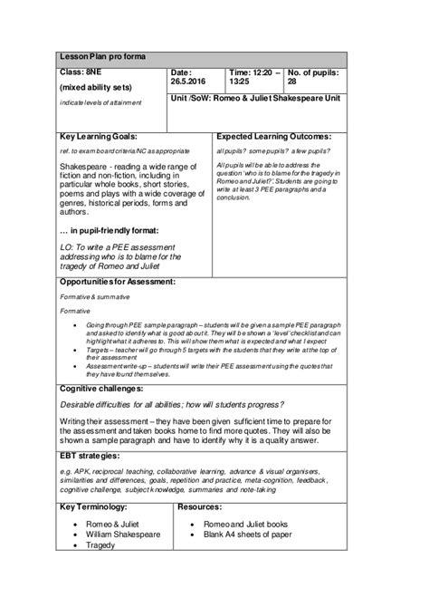 ne assessment write
