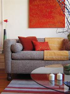 Red, Living, Room, Design, Ideas