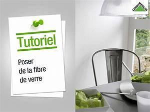 Comment Poser De La Fibre De Verre : papier peint frise et fibre de verre tapisserie ~ Premium-room.com Idées de Décoration