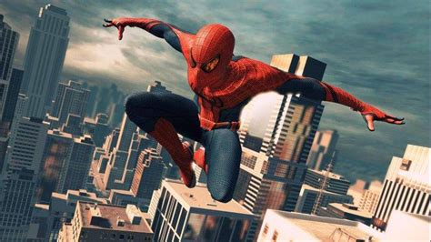 The Amazing Spider-man Spiderman Jumping Wallpaper