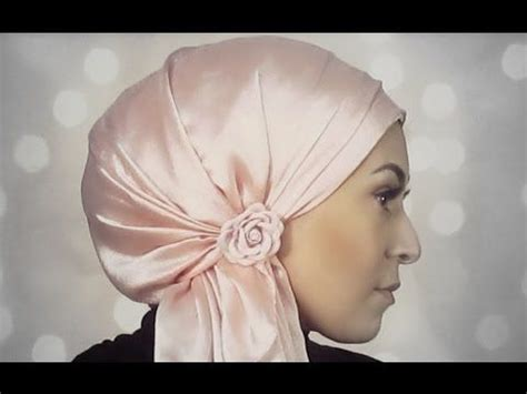hijab tutorial pretty bow turban   ariana grande