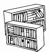 Coloring Library Bookshelf Pages Books Drawing Print Tocolor Button Using sketch template