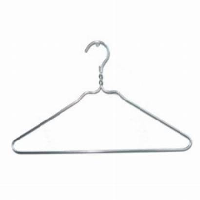 Hanger Silver Inch Hangers Wire Aluminum Clothes