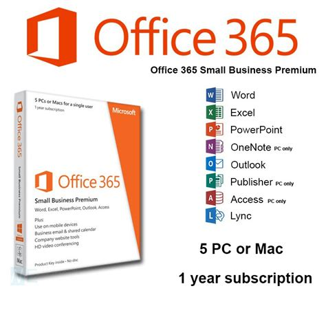 Office 365 Year by Microsoft Office 365 Business 1year 1user Computer House