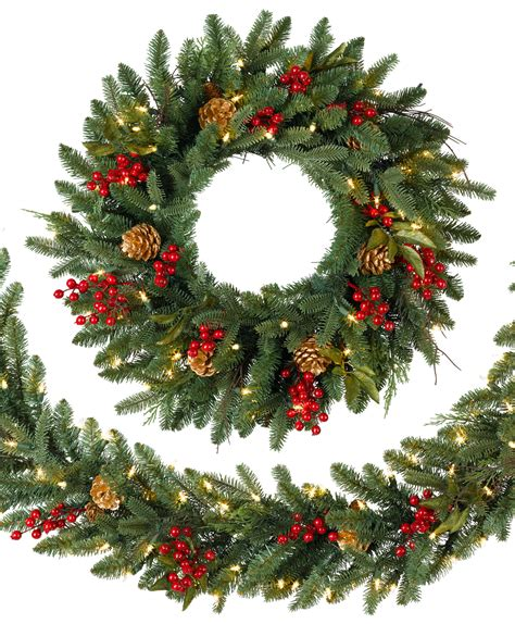 classic holiday artificial christmas wreath tree classics