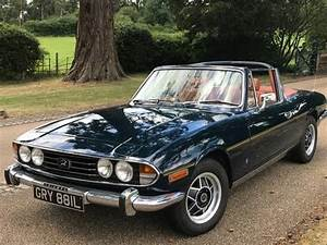 Triumph Stag 1973 3l V8 Manual Overdrive Blue For Sale