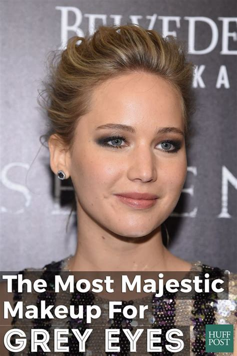 majestic makeup  grey eyes