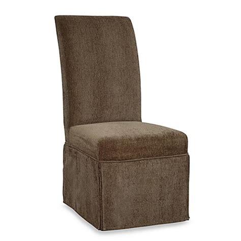 Green Slip Cover by Parsons Chair Slip Skirted Slip Cover In Olive Green