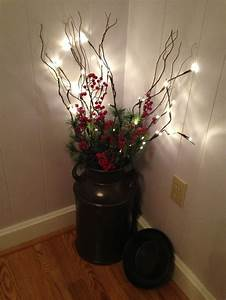 Our milk can all decorated For the Home Pinterest