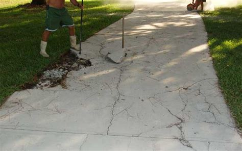 how to do concrete driveway repair thats my house