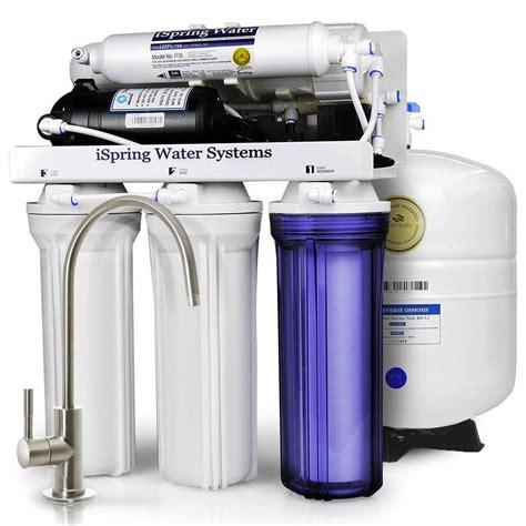 under sink water filtration system ispring wqa gold seal maximum performance under sink