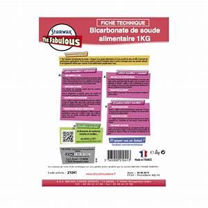 Bicarbonate De Soude Technique : bicarbonate de soude alimentaire sachet de 1 kg ~ Dailycaller-alerts.com Idées de Décoration
