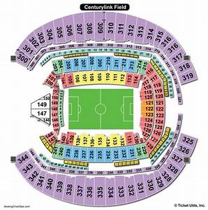 Centurylink Field Seating Charts Views Games Answers