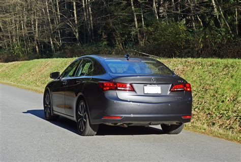 2015 acura tlx elite 3 5l sh awd road test review