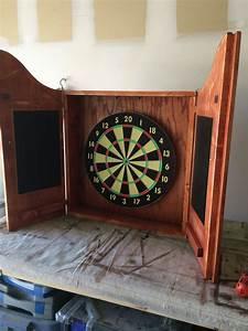 Electronic Dartboard Cabinet Plans Home Furniture Decoration
