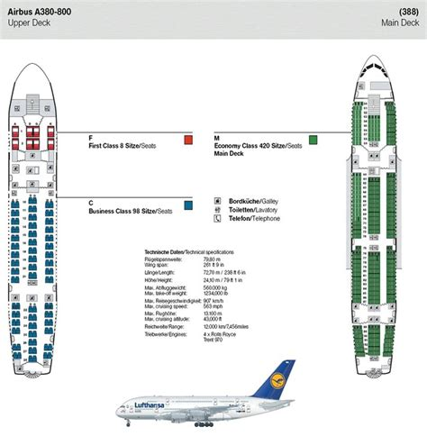 plan siege a380 air lufthansa airlines airbus a380 800 airline seating map