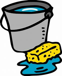 Cleaning Bucket Sponge Water Clip Art at Clker.com ...