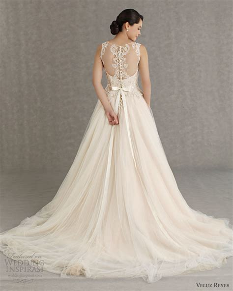 Veluz Reyes Wedding Dresses 2013 Wedding Inspirasi