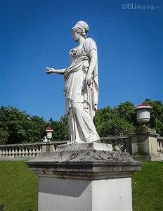 Minerva the Goddess of Wisdom statue in Luxembourg Gardens ...