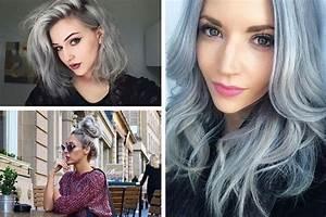 Couleur Cheveux Pastel : granny hair les cheveux de grand m re ne se cachent plus ~ Melissatoandfro.com Idées de Décoration