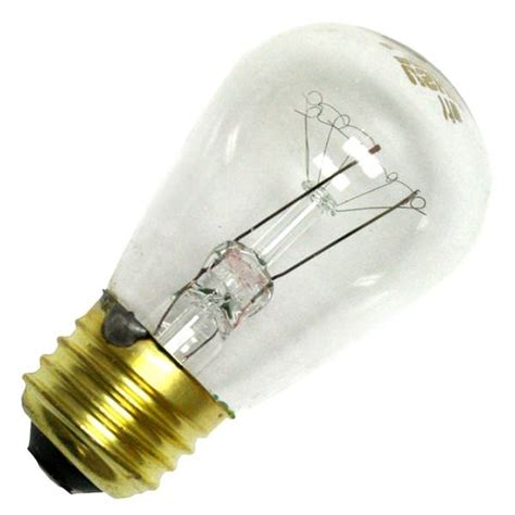 standard light bulb base ushio 1003212 11w s 14 cl 20k standard base clear