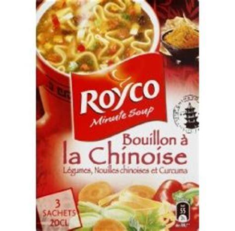 calorie cuisine chinoise royco minute soup 39 bouillon à la chinoise retour à la vie
