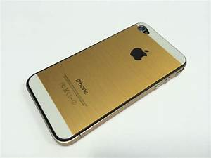 iPhone 4 & 4s gold sticker with shape of iPhone 5s price ...
