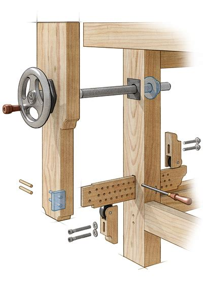 motion benchcrafted vise   breeze   finewoodworking